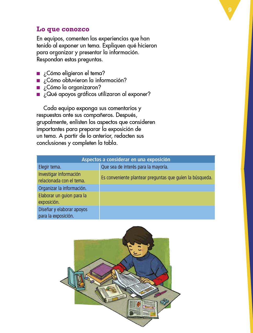Español Cuarto grado 2017-2018 - Ciclo Escolar - Centro de Descargas