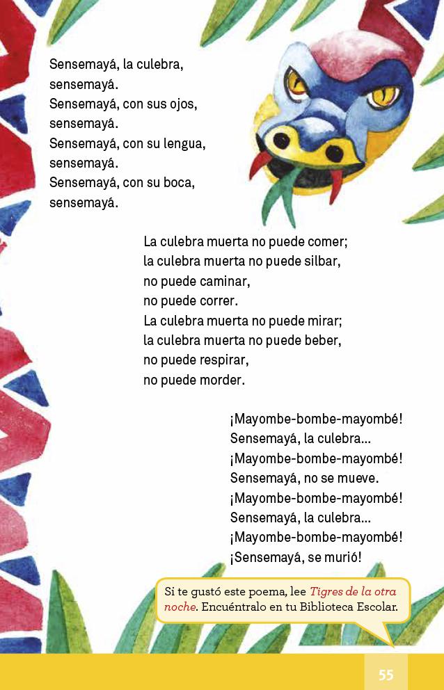 Español lectura Cuarto grado 2017-2018 - Ciclo Escolar - Centro de ...
