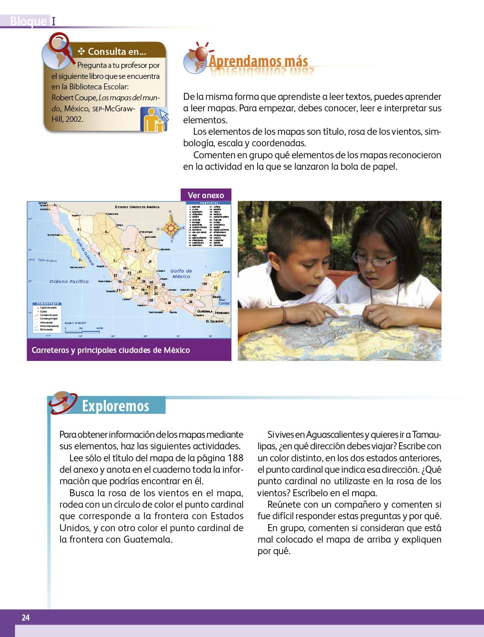 Geografía Cuarto grado 2017-2018 - Ciclo Escolar - Centro de Descargas