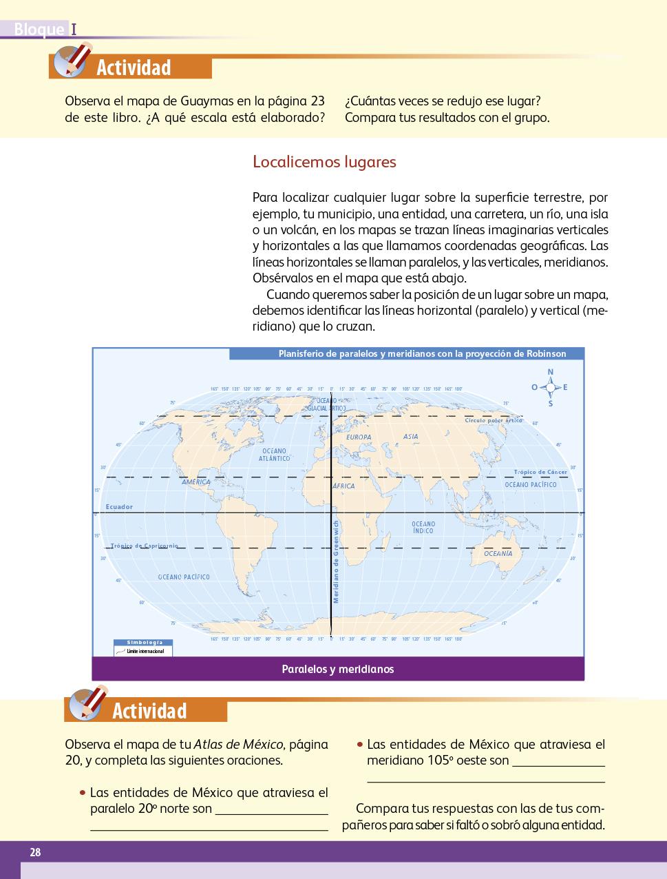 Libro De Geografia 5 Grado Contestado Pagina 96 - Libros Favorito